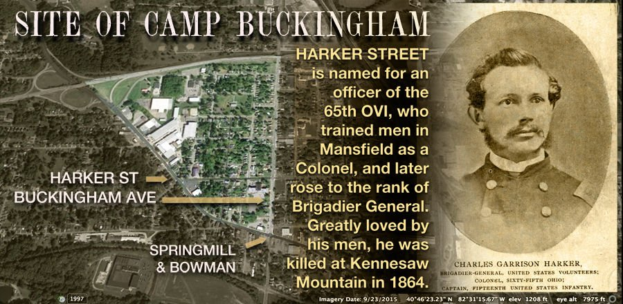 The site of Camp Buckingham