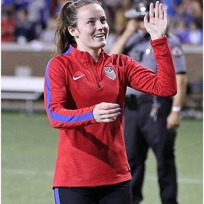 Ohio's Rose Lavelle has become an international soccer star