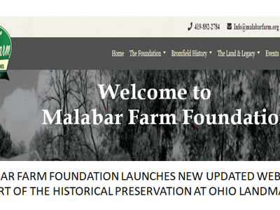 Malabar Farm Foundation launches new website to support historical preservation