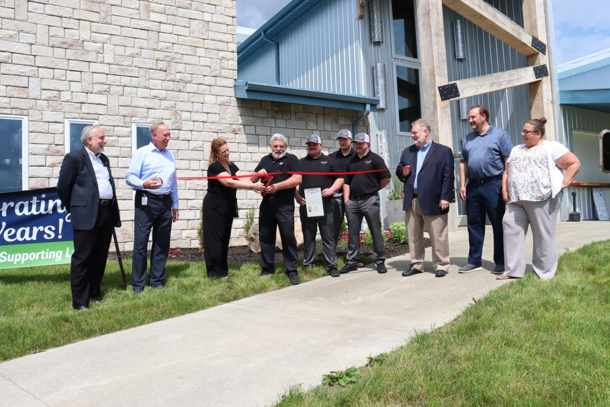 blueberry patch ribbon cutting