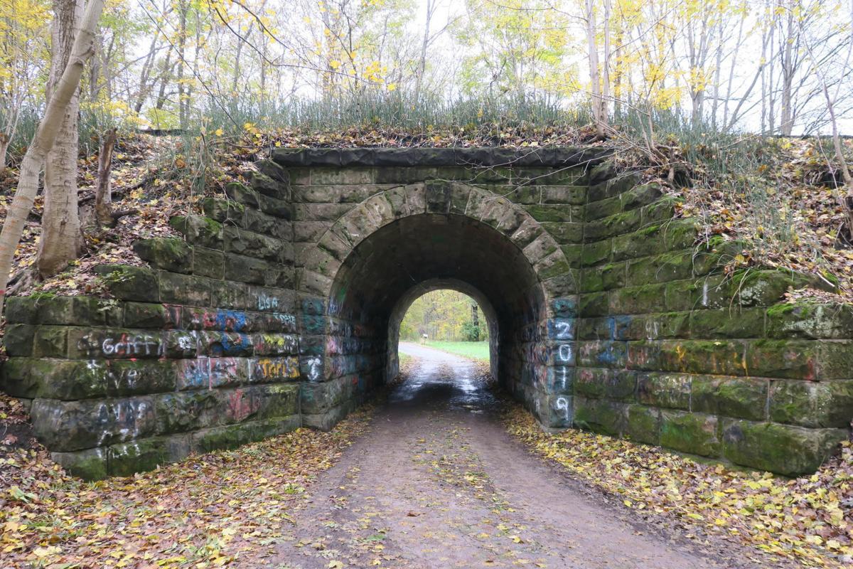 Ashland County Twp. Road 1356 tunnel