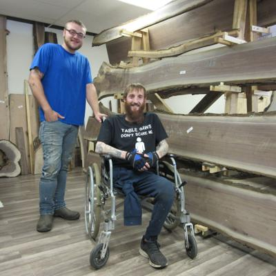 """Shelby business owner to thrive with """"stumps"""""""