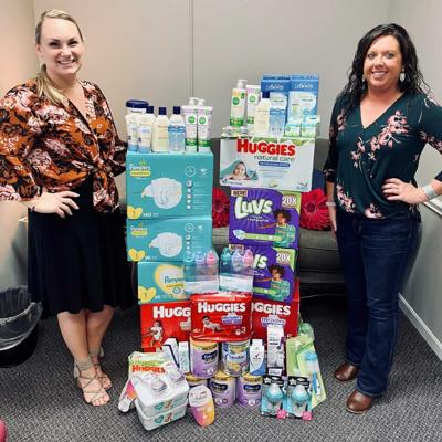 Mansfield Modern Woodmen service project benefits Ashland Pregnancy Care Center