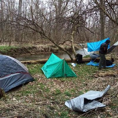 Camping may be the first step in combating Richland County's high stress levels