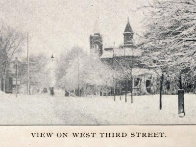 Then & Now:  West Third Street 1905