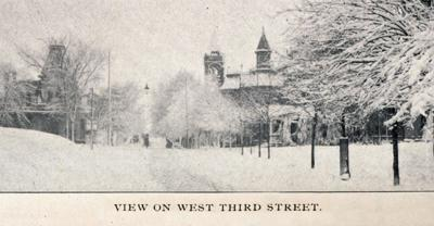 Then & Now:  West Third Street 1905