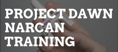 project dawn narcan training