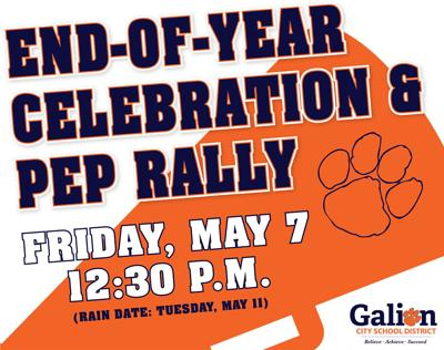 Galion City Schools Pep Rally