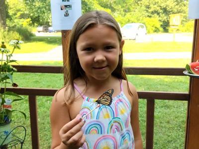 Hearts aflutter as butterfly exhibit returns to Gorman Nature Center