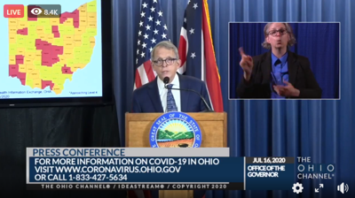 COVID-19: Masks become mandatory in Richland County, says DeWine