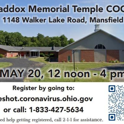 Maddox Memorial Temple COGIC hosting vaccination site on May 20