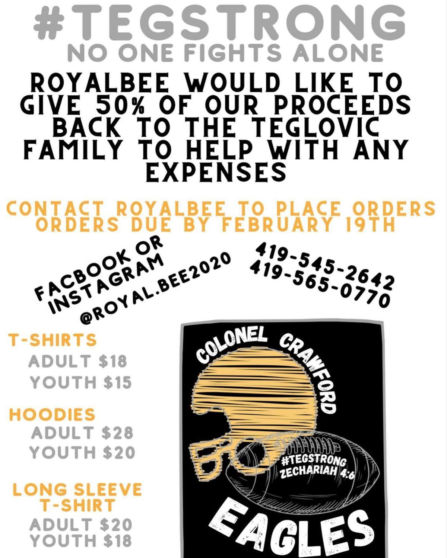 Royal Bee fundraiser
