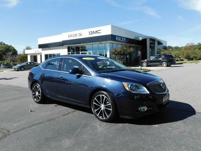2016 Dark Sapphire Blue Metallic Buick Verano Sedans Richmond Com