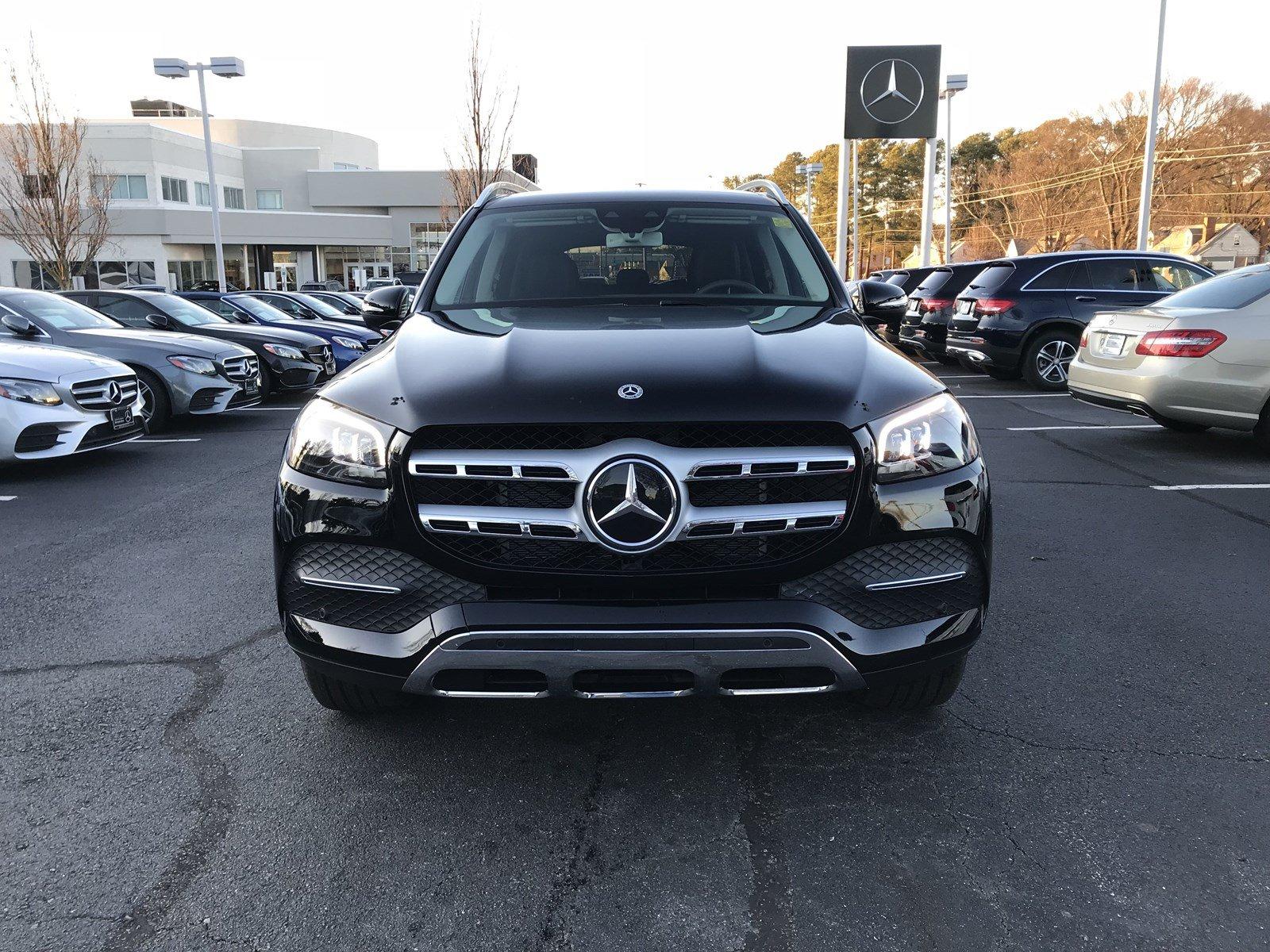 2020 Black Mercedes-Benz GLS
