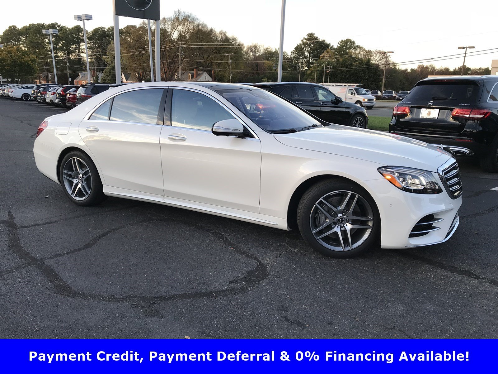 2020 Designo Diamond White Metallic Mercedes-Benz S-Class