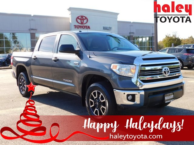 2016 Silver Toyota Tundra 4WD Truck