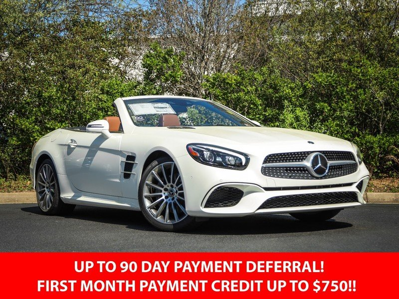 2020 Designo  Diamond White Metallic Mercedes-Benz SL