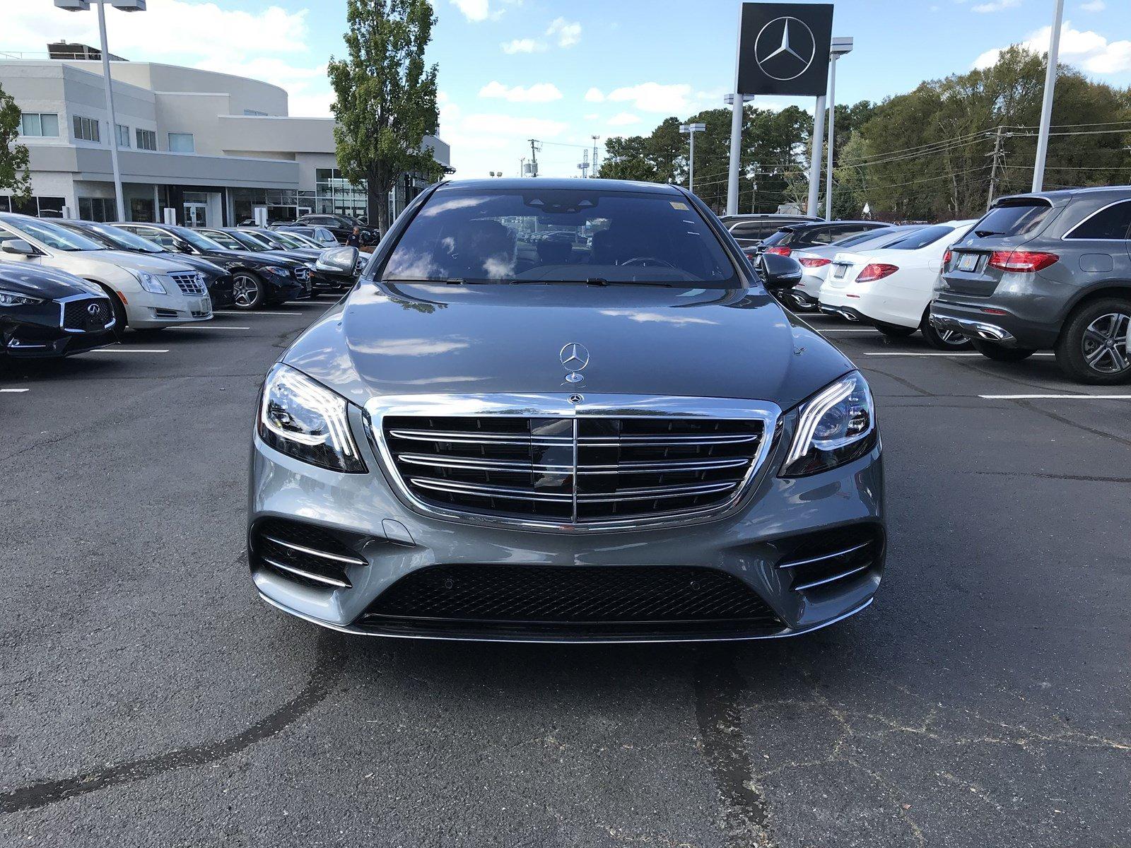 2020 Selenite Grey Metallic Mercedes-Benz S-Class