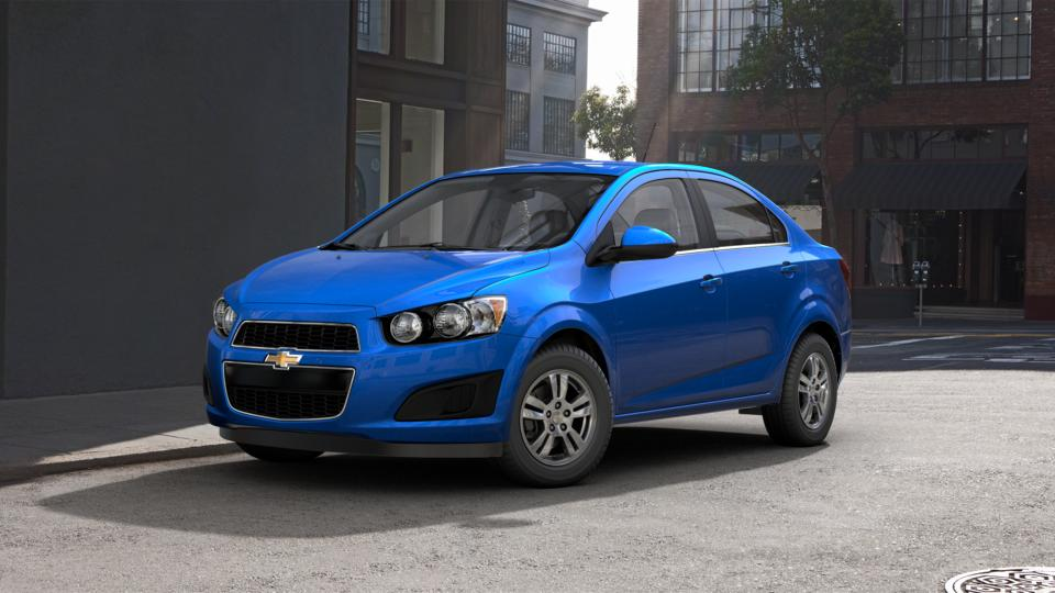 2016 Kinetic Blue Metallic Chevrolet Sonic