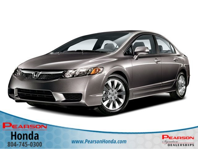 2009 Gray Honda Civic Sdn