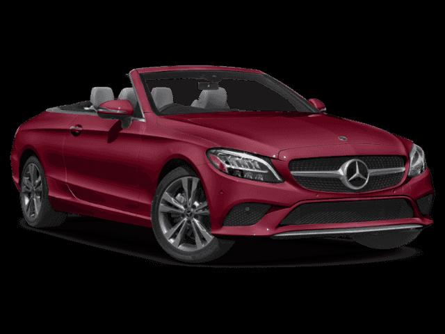 2019 Designo Cardinal Red Metallic Mercedes-Benz C-Class
