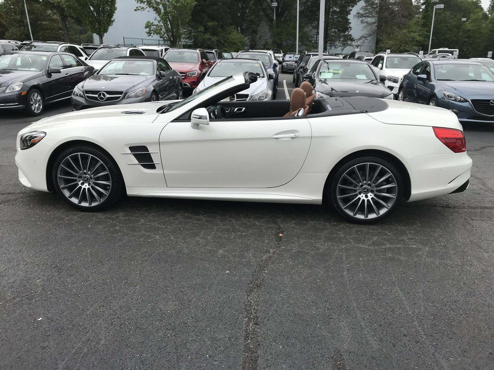 2020 Designo  Diamond White Metallic Mercedes-Benz SL