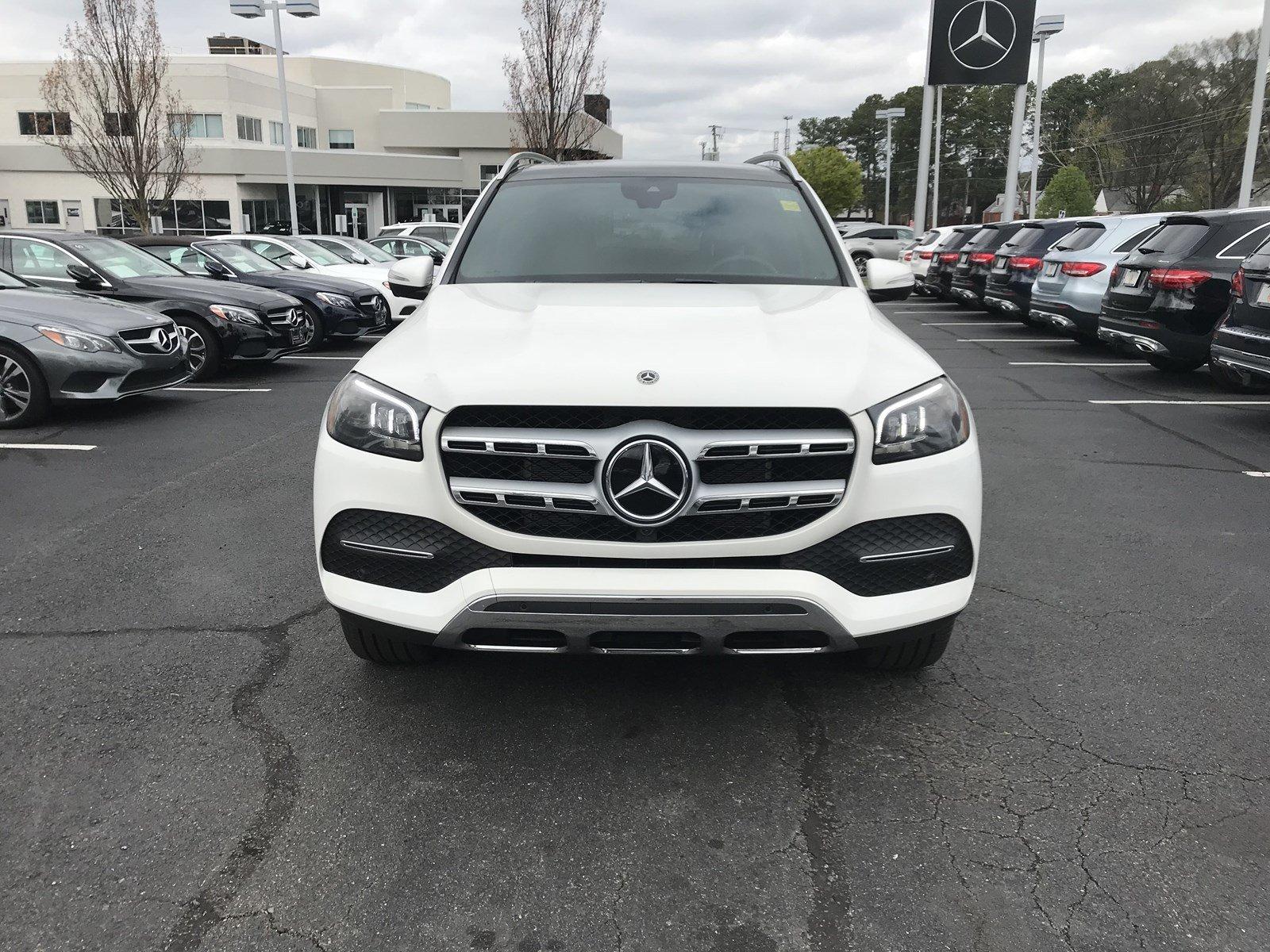 2020 Polar White Mercedes-Benz GLS