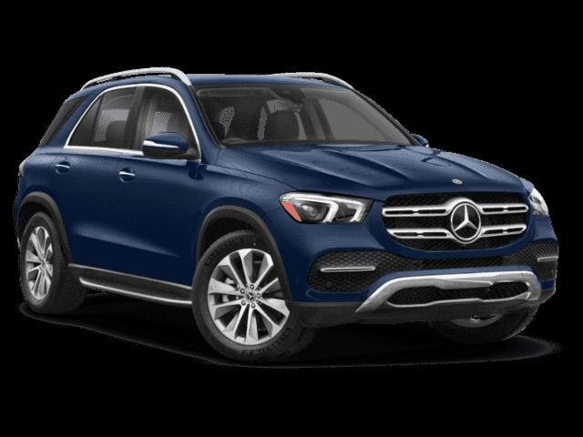 2020 Brilliant Blue Mercedes-Benz GLE