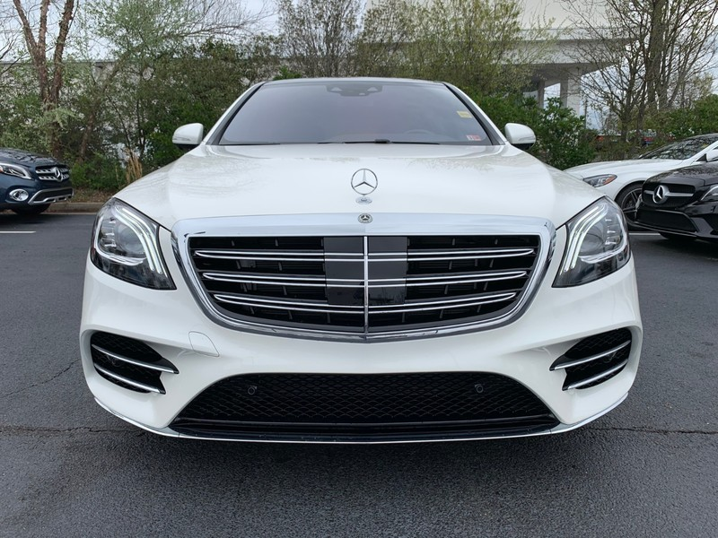 2020 Designo Diamond White Mercedes-Benz S-Class