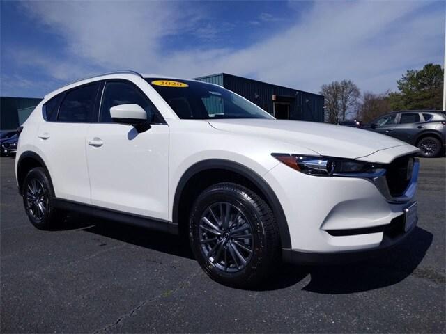 2020 Snowflake White Pearl Mica Mazda CX-5