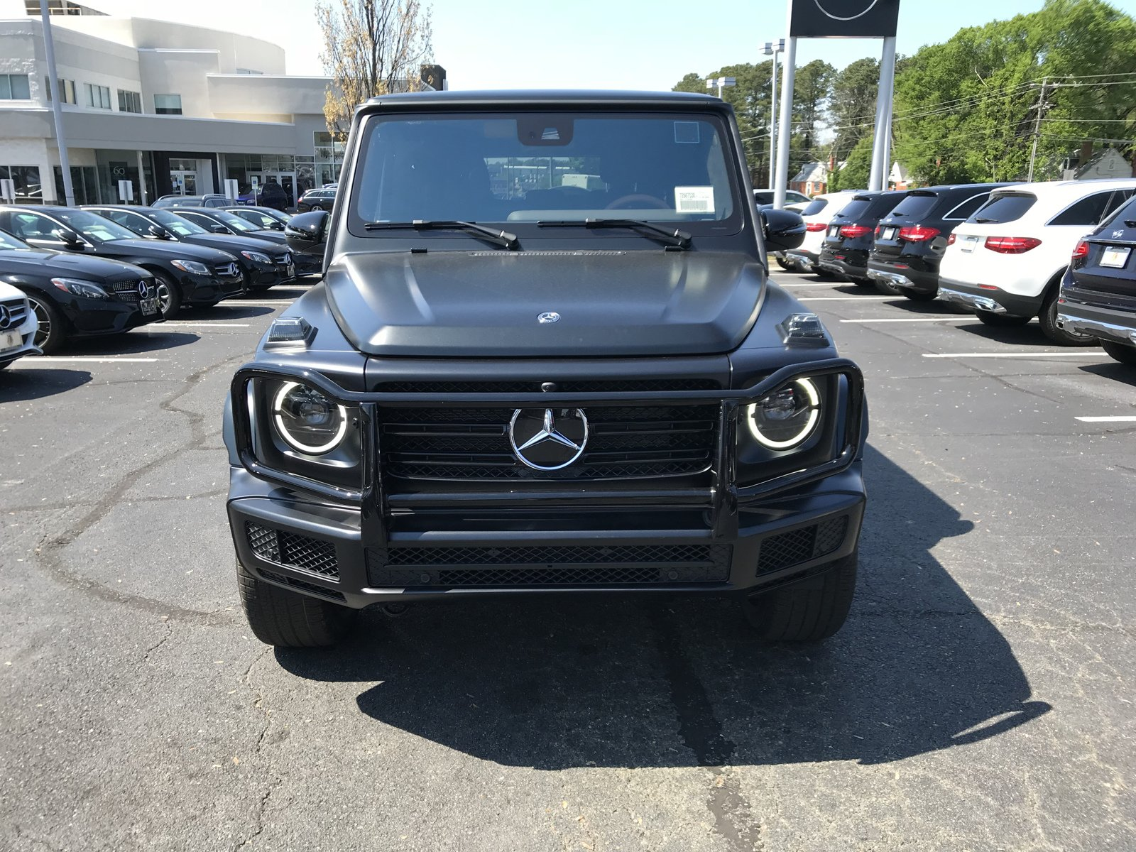 2020 Designo  Night Black Magno Mercedes-Benz G-Class