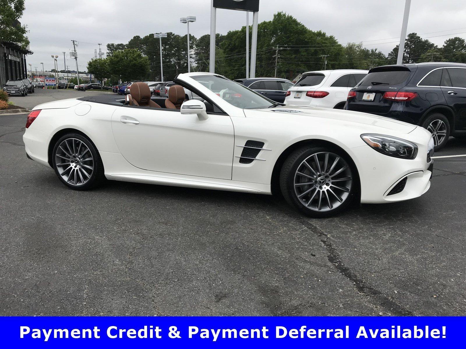 2020 Designo Diamond White Metallic Mercedes Benz Sl Convertibles Richmond Com