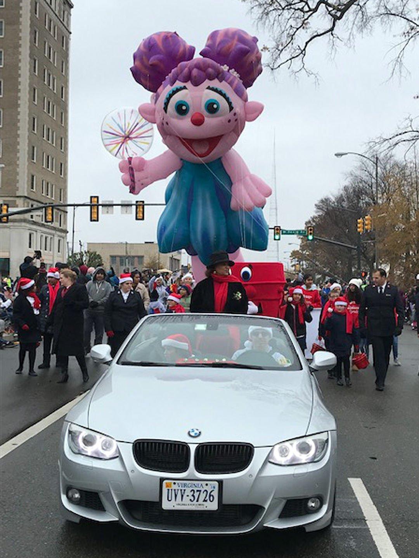 Team RTD at the Richmond Christmas Parade