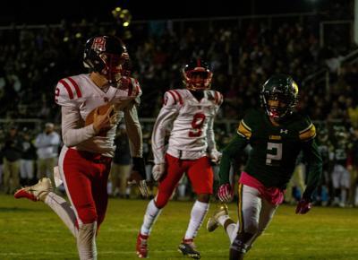 Patrick Henry at Louisa County football: Sikkar scores