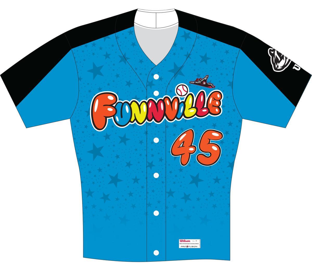 A winning wardrobe  Squirrels unveil seven themed uniforms  70de58713