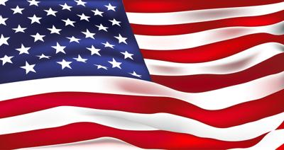 US flag vector. Stars and Stripes. Old Glory