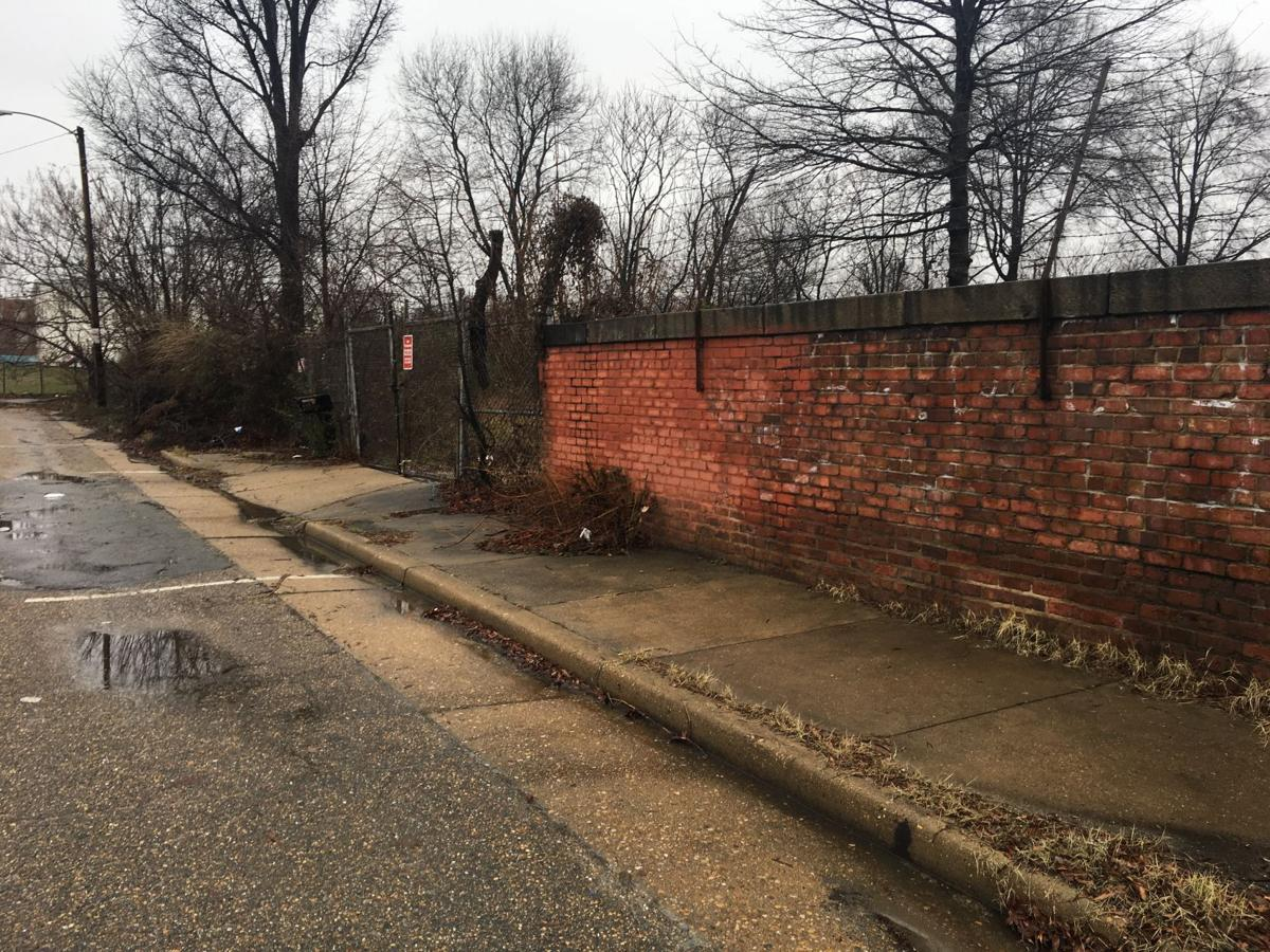 Vacant lot at 900 Axtell Street where police seized stolen construction materials