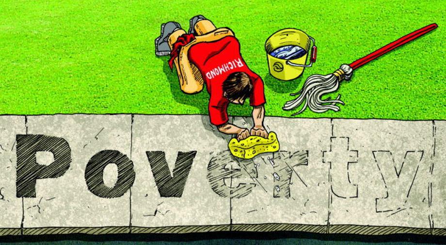 Poverty in Richmond logo