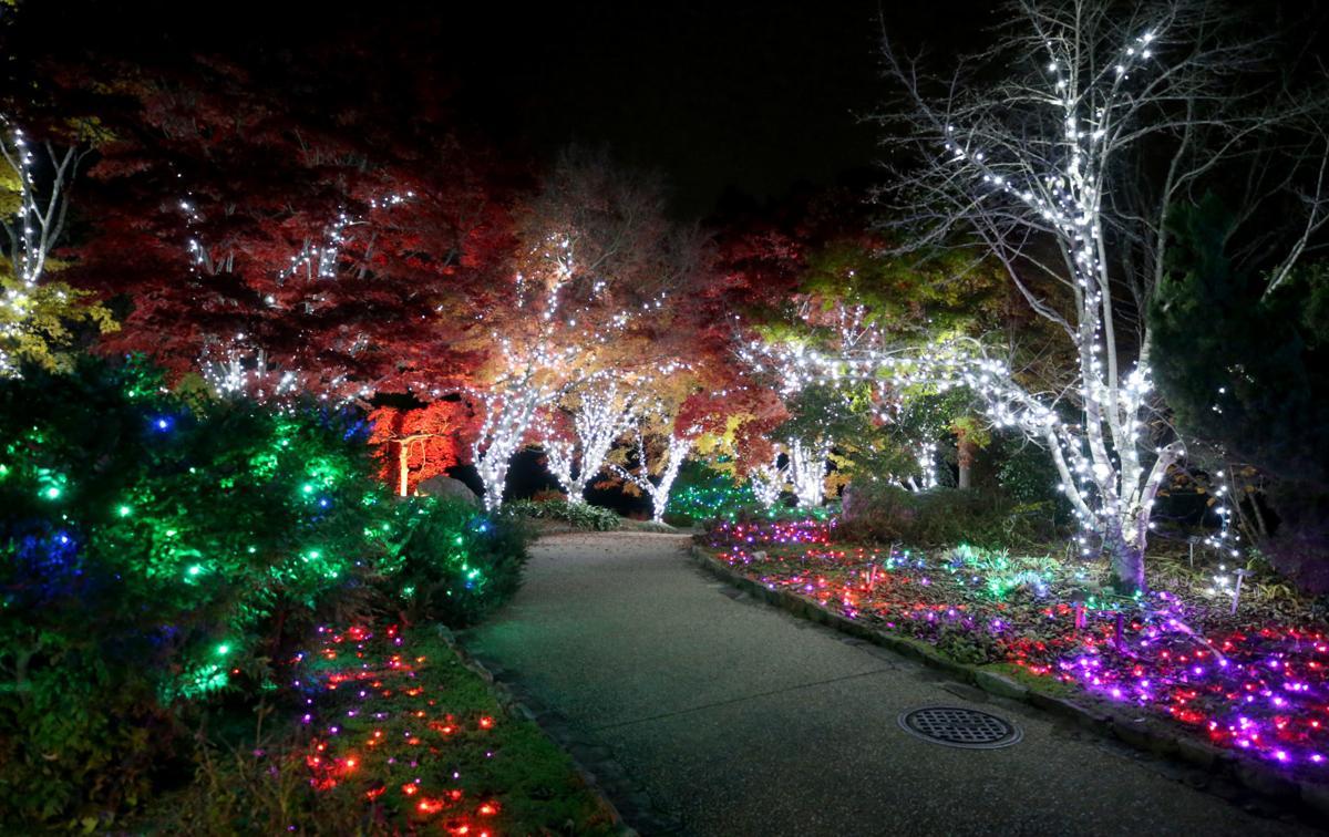 Richmond S Gardenfest Of Lights In Top 10 For Usa Today S Best Garden Lights Entertainment Richmond Com