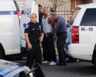 Suspect arrest