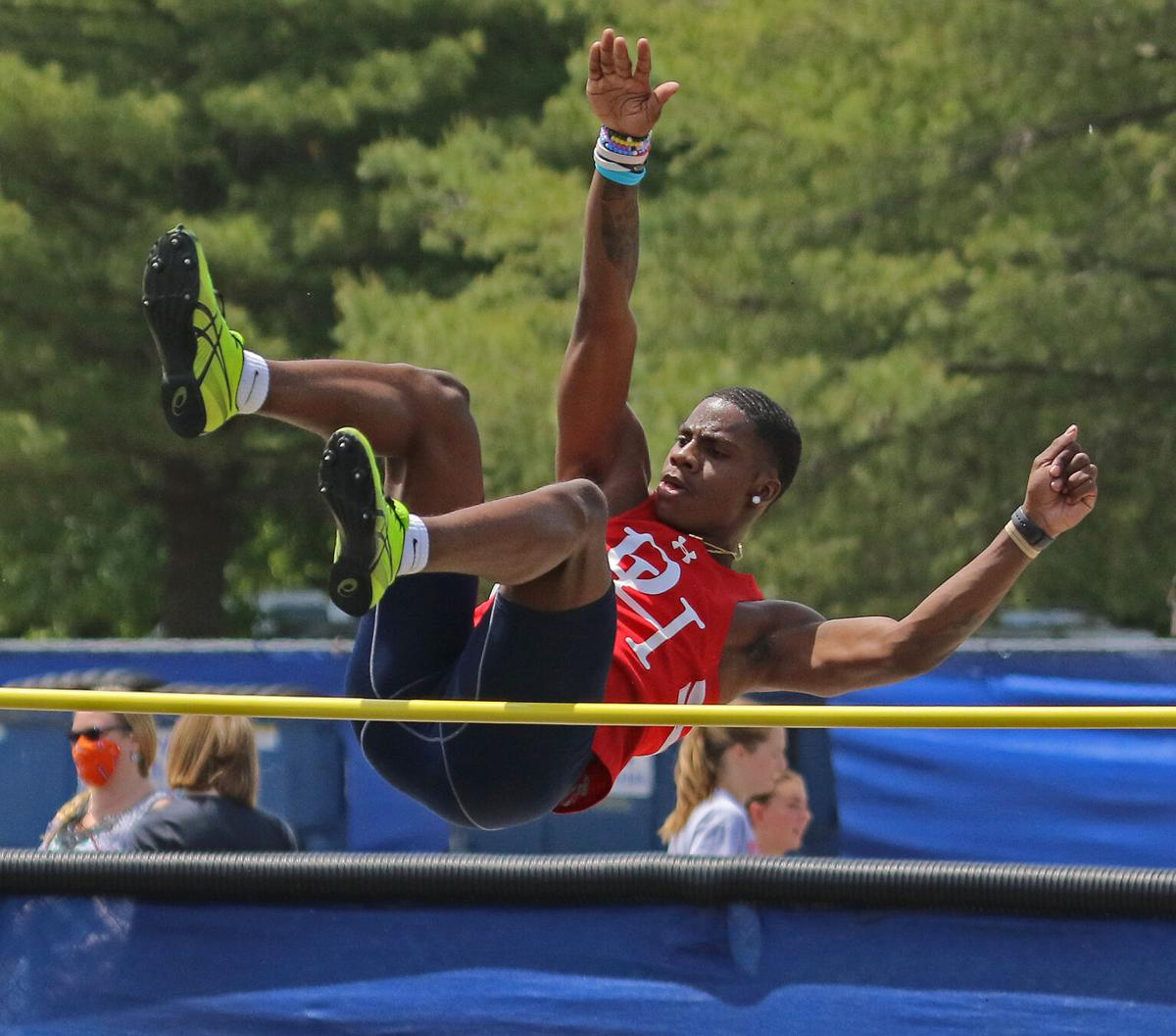 Hanover County quad: Mines ties for high jump win