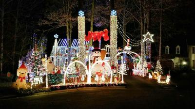 Brandermill House That Won Usa Today S Best Will Light Up