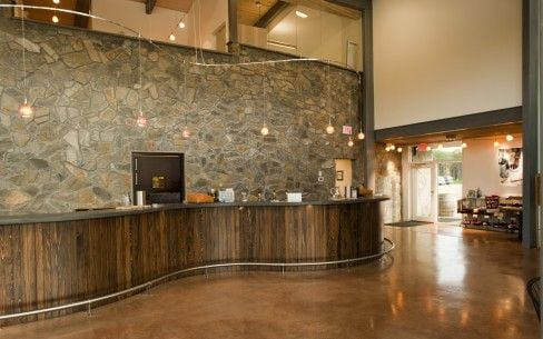The Interior of Our LEED Certified Tasting Room!