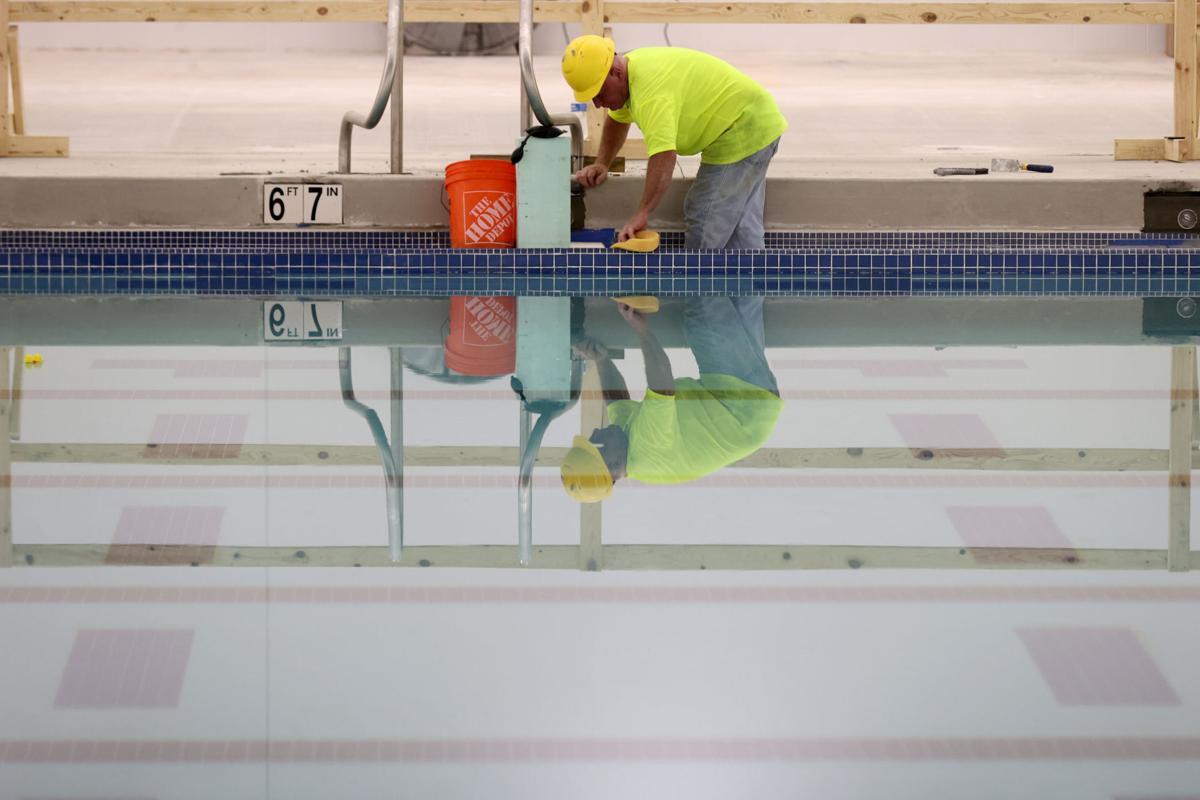 NOVA's new aquatics center