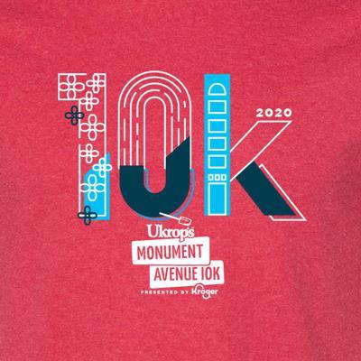 Ukrop's Monument Avenue 10k T-shirt design winner
