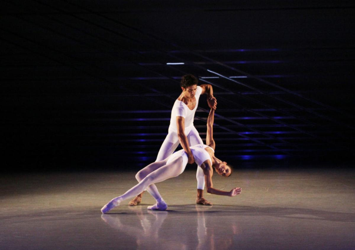 "Maggie Small and Fernando Sabino in ""Phoenix Rising."""