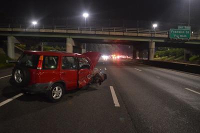 Accident on Interstate 95 Sunday