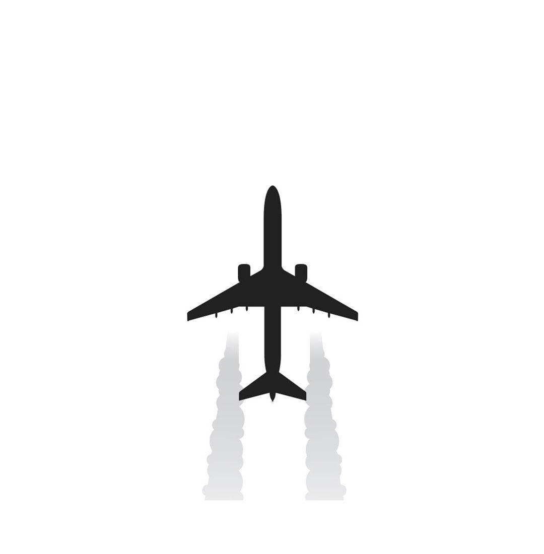 Plane illustration 1