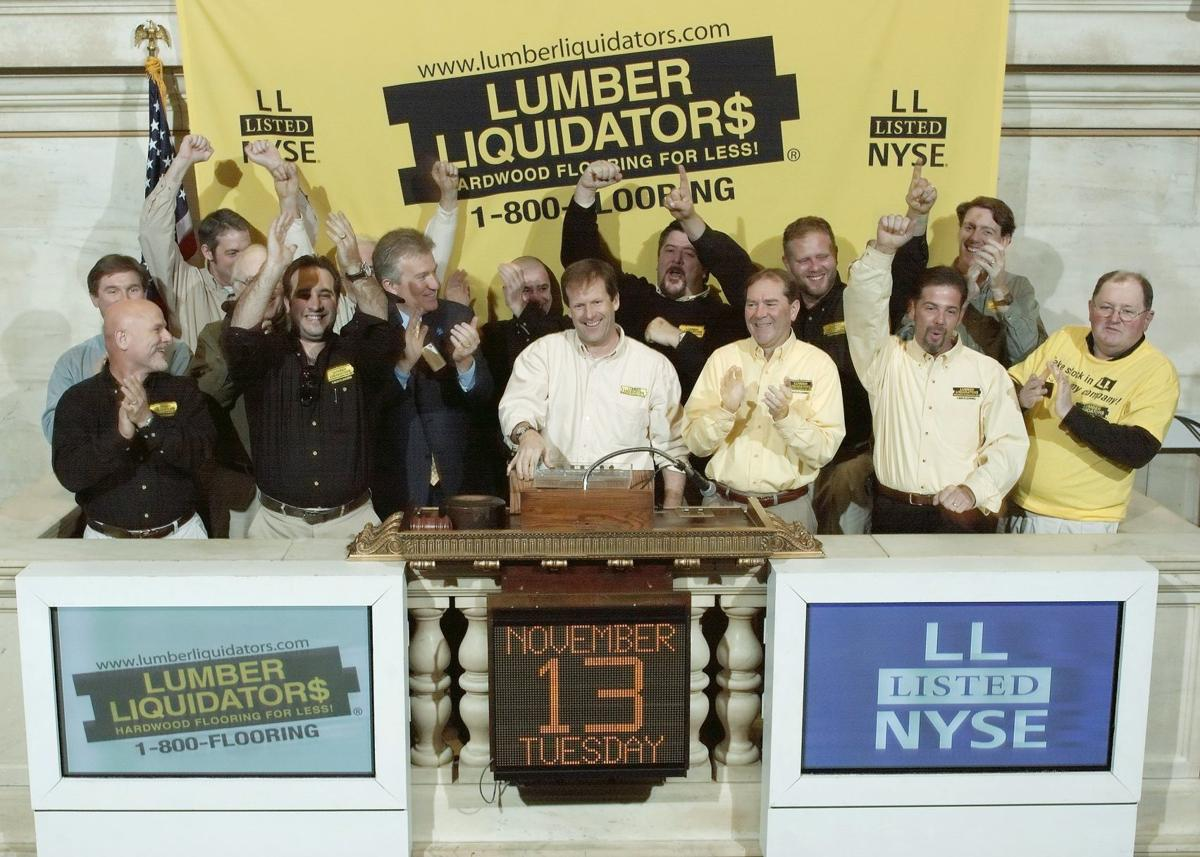 Lumber Liquidators Founder Interested