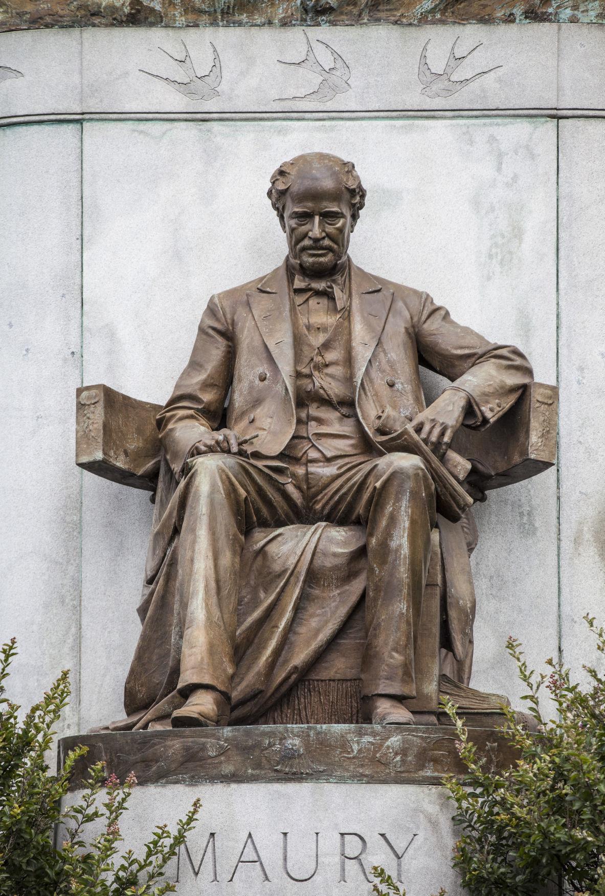 Matthew Fontaine Maury statue